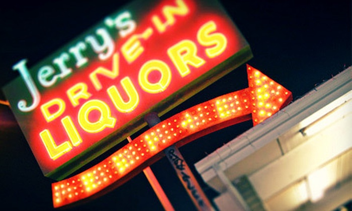 Jerry's Liquors - Jen Tilly Terrace: Drive-Through Liquor, Beer, and Wine at Jerry's Liquors in Tempe (Half Off). Two Options Available.