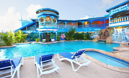 3-, 4-, or 5-Night Stay with Daily Breakfast and Gym Access at Travellers Beach Resort in Negril, Jamaica