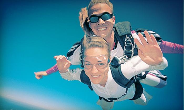 Skydive Collegeville - Skippack: $169 for a Tandem Skydive for One at Skydive Collegeville ($280 Value)