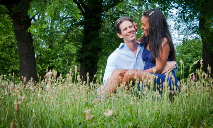 "Spoon Photo & Design - Chicago: $69 for One-Hour Engagement Photo Shoot with 5""x7"" Print and Three Digital Photos ($237 Value)"