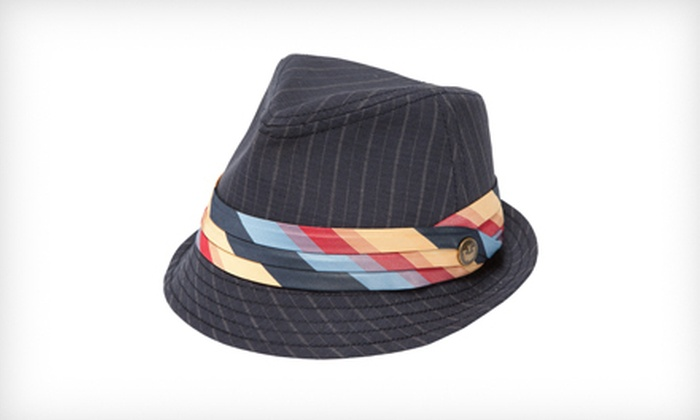 Goorin Bros. Women's Agatha Fedora in Navy: $19 for a Women's Agatha Fedora in Navy ($60 List Price). Four Sizes Available.