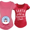 Women's Christmas Maternity Tees