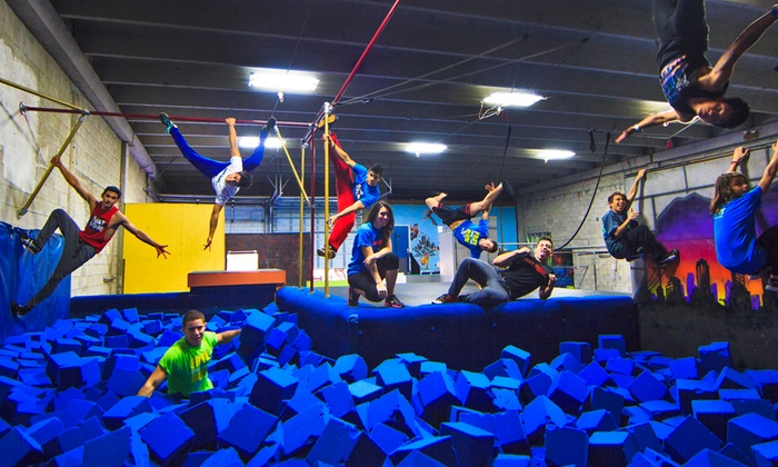 Miami Freerunning and Parkour Academy - North Westside: 5 or 10 Open-Gym Classes at Miami Freerunning and Parkour Academy (Up to 41% Off)