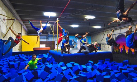 5 or 10 Open-Gym Classes at Miami Freerunning and Parkour Academy (Up to 41% Off)