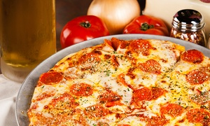 Mad Meatball: Large Pizzas and Beers for Two or Four at Mad Meatball (43% Off)