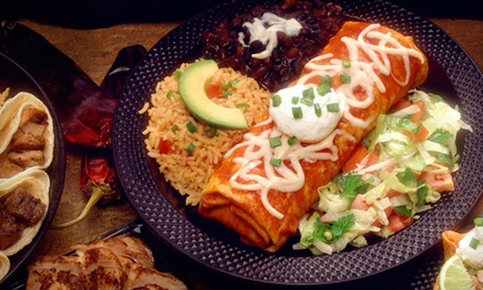 Mi Tenampa - Lawrence: $10 for $20 Worth of Mexican Food and Drinks for Two or More at Mi Tenampa