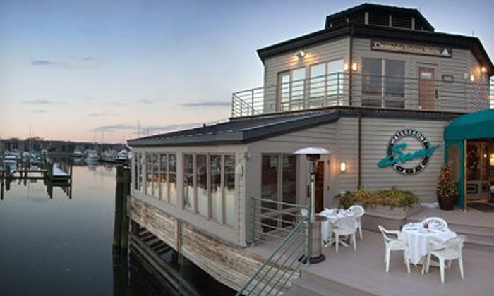 Sam's on the Waterfront - Annapolis Neck: Seafood and Gourmet American Cuisine for Two or Four at Sam's on the Waterfront (Half Off)
