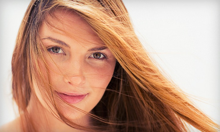 Shananigin's Salon & Spa - West Springfield Town: $39 for a Haircut, Color or Full Foil Highlights, and Blow-Dry at Shananigin's Salon & Spa (Up to $109 Value)