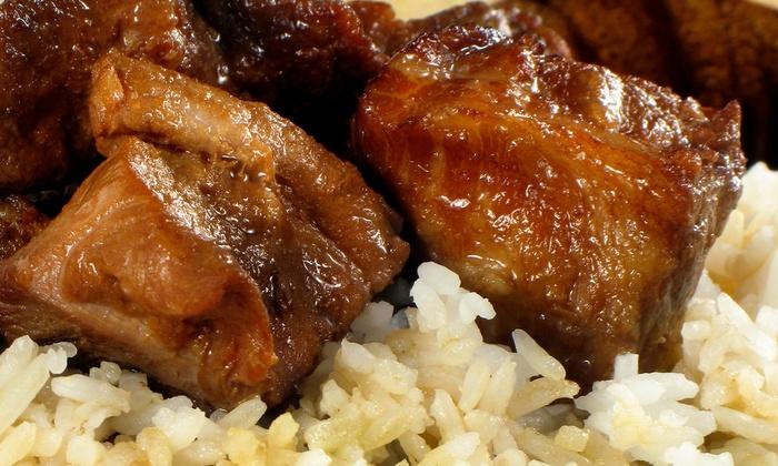 Cusina Ni Mutya - McCauley: Filipino and ChineseCuisine at Cusina Ni Mutya (Half Off). Two Options Available.