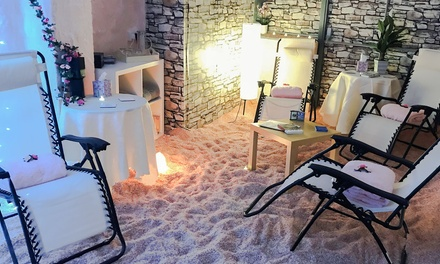 60Minute Halotherapy or Private Halotherapy Session for Up to Four at Crystal Clear Salt Cave