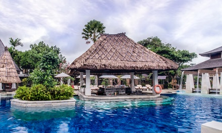 South Kuta, Bali: 5 or 7 Nights for Two with Breakfast, Welcome Drink and Spa Discount at Rama Beach Resort & VIllas