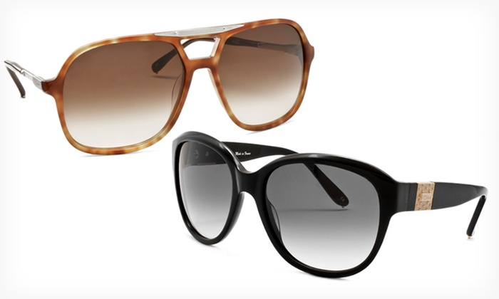 One Pair of Chloé Sunglasses: $79.99 for One Pair of Chloé Sunglasses (Up to $355 List Price). 10 Options Available. Free Shipping and Free Returns.