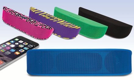 Aduro Portable Bluetooth Speaker with Built-In Mic