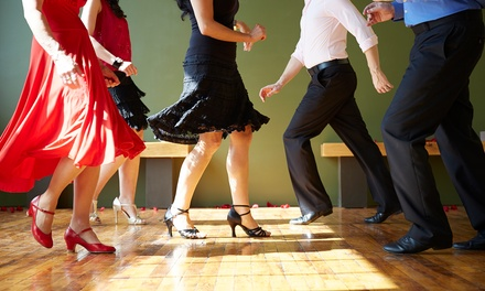 Private Lesson for Two or Six Weeks of Group Lessons for One or Two at Aquarius Ballroom Dance Studios (50% Off)
