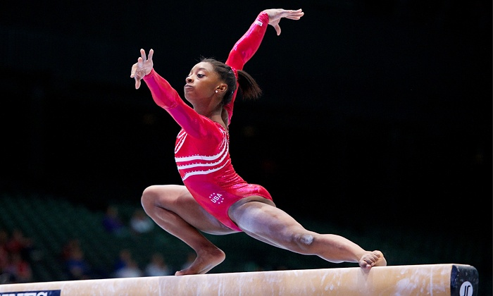USA Gymnastics Presents 2014 Nastia Liukin Cup and 2014 AT&T American Cup - Greensboro: USA Gymnastics Nastia Liukin Cup on February 28 or AT&T American Cup on March 1 (Up to 58% Off). Four Options Available.