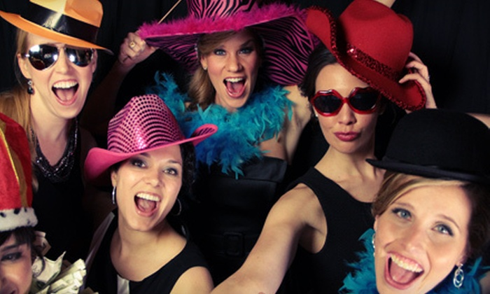 Snapped Together - Dallas: Photo-Booth Rental for One–Three Hours or Three–Five Hours from Snapped Together (Half Off)