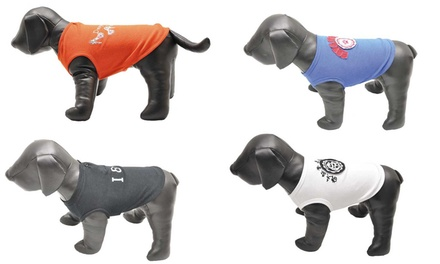 T-shirts pour chien, modèle et taille au choix à 9,98€