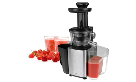 Kalorik Stainless Steel Fruit and Vegetable Slow Juicer