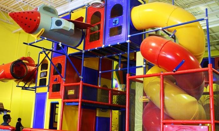Amazing Adventures - Burlington Industrial Area: Two or Four Play Passes at Amazing  Adventures ...