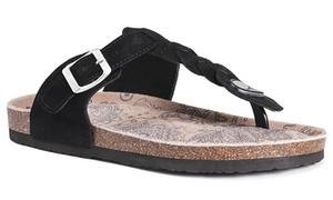 Muk Luks Marsha Women's Strap Sandals (Size 8)