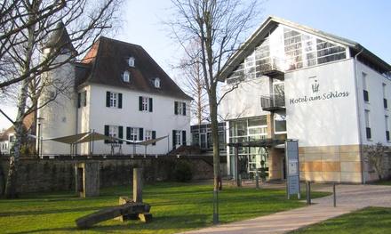 Palts: tweepersoonskamer voor twee incl. ontbijt, diner of halfpension & winterbubbels in Hotel am Schloss Rockenhausen