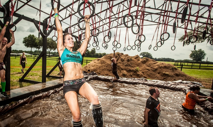 Superior Rugged Maniac 5K Obstacle Race   Thunder Valley Motocross Park : $50 For  Registration For One
