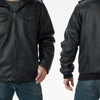 Oak & Rush Men's Faux-Leather Jackets
