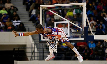 $37 for a Harlem Globetrotters Game at 1STBANK Center on Saturday, March 29, at 7:30 p.m. ($61.35 Value)