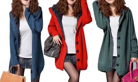 Fleece Lined Cardigan: One $29 or Two $55