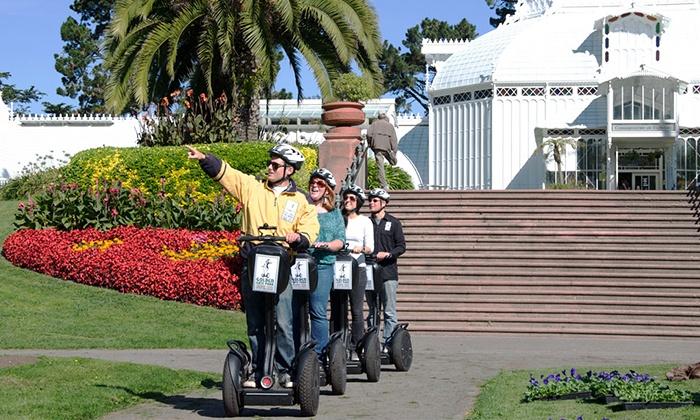 Segway Tours Electric Tour Company - Golden Gate Park Location: $38 for a Golden Gate Park Segway Tour from Segway Tours Electric Tour Company ($70 Value)