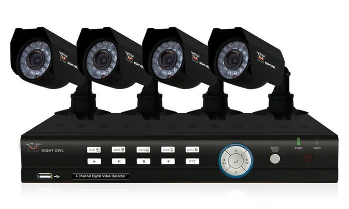 Night Owl Security Systems: Four- or Eight-Camera Night Owl Security System (Up to Half Off). Multiple Options Available. Free Shipping and Returns.