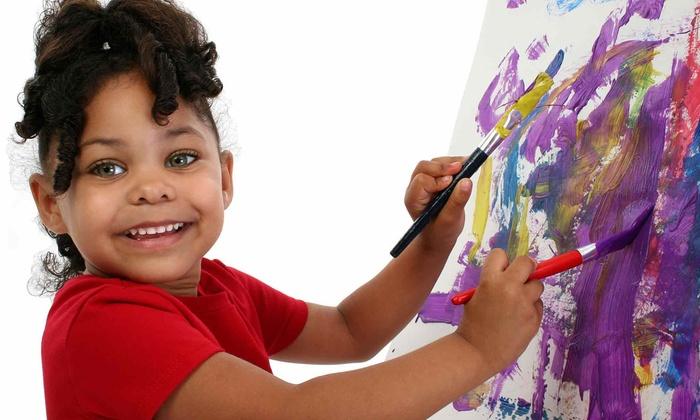 Art Classes by Adam Reeder - Folsom: One or Four Two-Hour Kids Art Classes by Adam Reeder (50% Off)