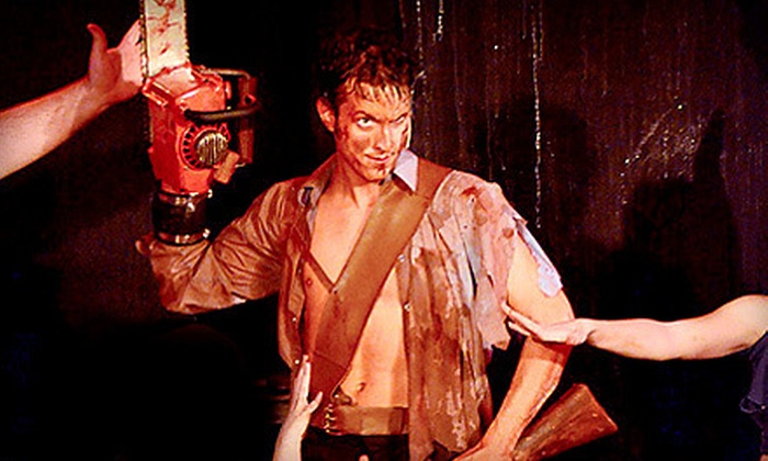 """Evil Dead The Musical 4D"" - The Strip: ""Evil Dead The Musical 4D"" for One or Two at the V Theater (Up to 61% Off)"