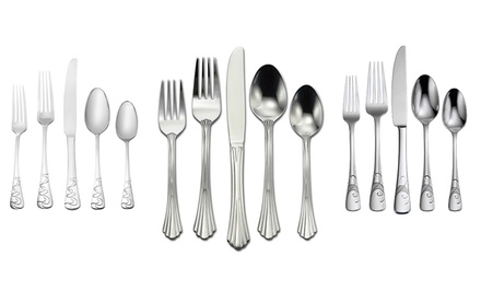 Oneida 20-Piece Stainless Steel Flatware Set