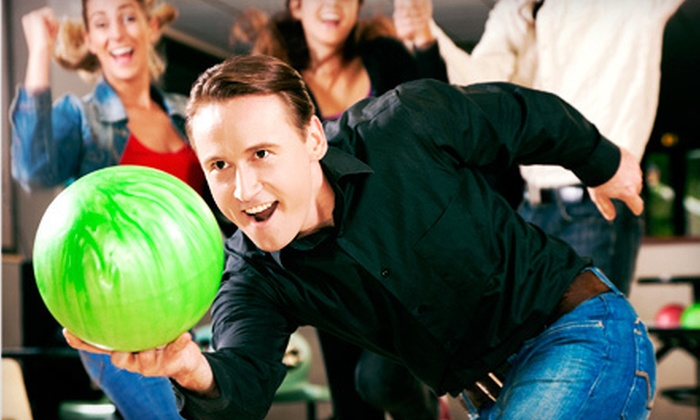 Manor Bowl, Harvest Park Bowl & Earl Anthony's Dublin Bowl - Multiple Locations: Weekday or Weekend Bowling with Shoe Rental for Up to Six at Manor Bowl, Harvest Park Bowl, or Earl Anthony's Dublin Bowl (Up to 72% Off)