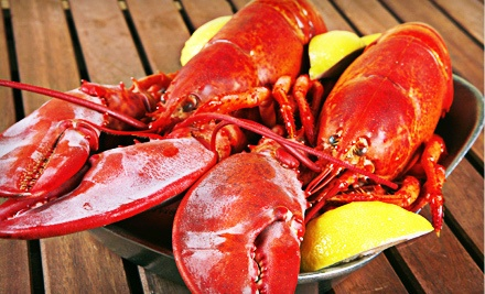 Maine Lobster Dinner with Mussels and Crab Cakes for Four or Six from GetMaineLobster.com (Up to 57% Off)