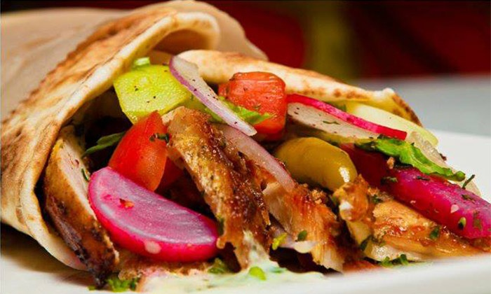 I Dream of Falafel (OakBrook) - Oakbrook Terrace: $7.75 for Two Mediterranean Wraps or Plates at I Dream of Falafel ($15.50 Value)