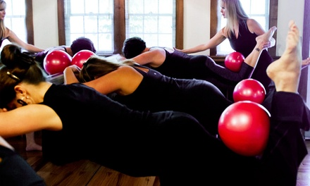 5 or 10 Barre Classes at The Pilates Place (Up to 53% Off)