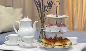 The Living Room at The Maidstone: High Tea for Two or Four with Sandwiches, Scones, & Spreads at The Living Room at The Maidstone (Up to 45% Off)