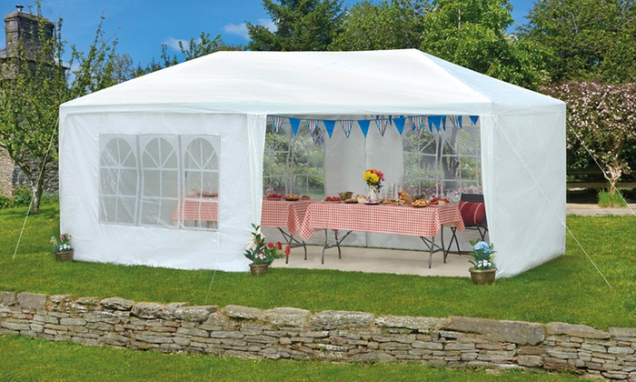 gazebo party tents groupon goods. Black Bedroom Furniture Sets. Home Design Ideas