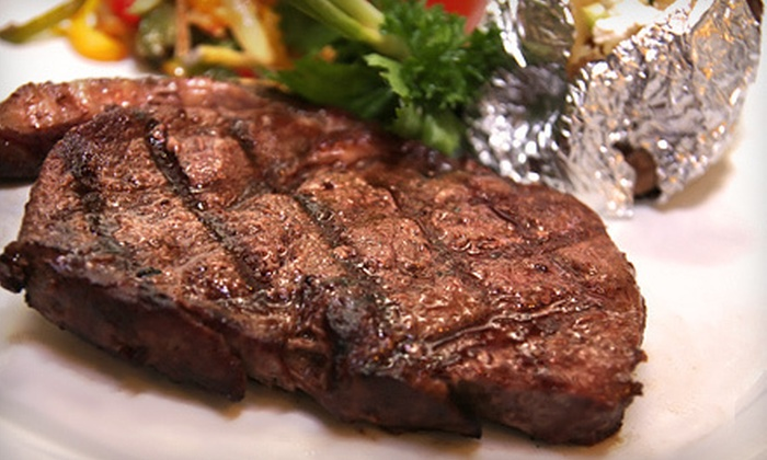 Janko's Little Zagreb - Downtown Bloomington: $35 for a Steak Dinner for Two with an Appetizer and Wine at Janko's Little Zagreb in Bloomington (Up to $73.80 Value)