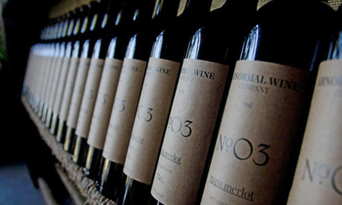 Abnormal Wine Company - Rancho Bernadino: Five or Unlimited Wine Tastings for Two and One Take-Home Bottle of Wine at Abnormal Wine Company (Up to Half Off)