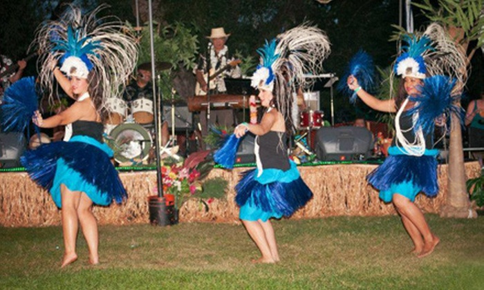Voodoo Island - Boulder: $20 for One Admission to a Labor Day Weekend Tiki Ball and Pool Party Hosted by 1940's Ball (Up to $40 Value)