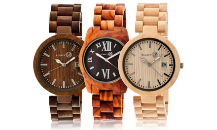 Earth Watches Heartwood or Stomates Unisex Wooden Watch