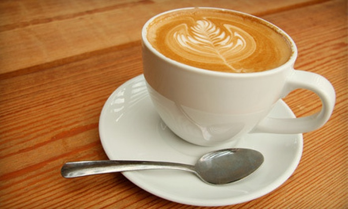 Top City Frozen Yogurt Cafe - Jefferson Westside: 5 Coffee Drinks at Top City Frozen Yogurt Cafe (Half Off)