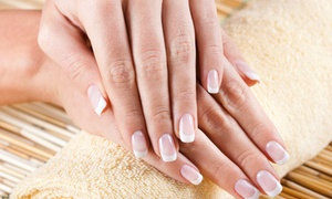 The Beauty Box Northcliff: Luxury French or Gel Manicure or Pedicure from R120 for One at The Beauty Box Northcliff (60% Off)