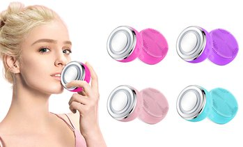 Two-in-One Sonic Facial Cleansing Brush