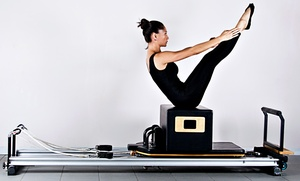 Pilates with Altitude: 5 or 10 Group Pilates Classes at Pilates with Altitude (Up to 62% Off)