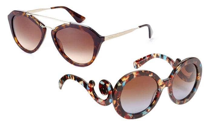 81f0622fbdef Prada Women's Sunglasses | Groupon Goods