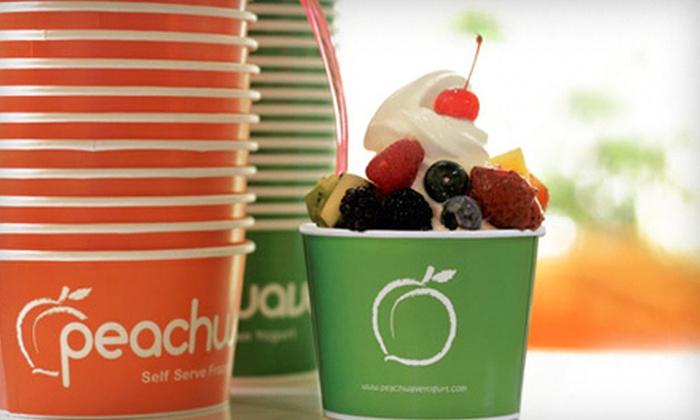 Peachwave Yogurt - Maple Tree: $5 for $10 Worth of Frozen Yogurt at Peachwave Yogurt